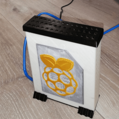 Image_1.png Download STL file Raspberry pi (3 or 4) case • 3D printing template, ludovic_gauthier
