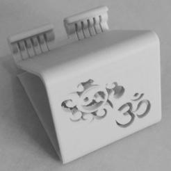 Printing_4.png Télécharger fichier STL Support de téléphone Support de téléphone Ying-Yang Ohm • Design à imprimer en 3D, ludovic_gauthier