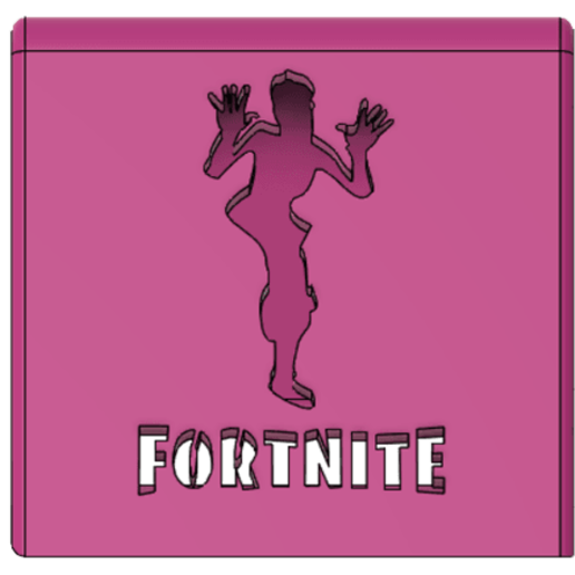 Download 3D print files Phone Holder Phone stand Fortnite-Zany, ludovic_gauthier