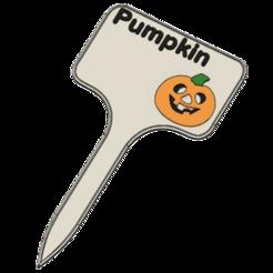 Download 3D model Pumpkin Signs / Labels for garden, ludovic_gauthier