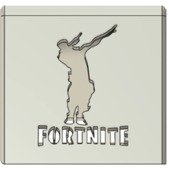 Image_4.png Download STL file Phone Holder Phone stand Fortnite-DAB • 3D printer template, ludovic_gauthier