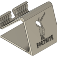 Image_2.png Download STL file Phone Holder Phone stand Fortnite-DAB • 3D printer template, ludovic_gauthier