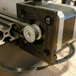 3.jpg Télécharger fichier STL gratuit Support Geeetech A20M à axe Y pour l'installation d'un amortisseur de moteur (sans inversion d'axe) • Plan pour imprimante 3D, DasMatze