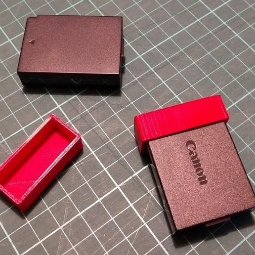 Télécharger fichier impression 3D gratuit Couvercle de batterie Canon LP-E10, peaberry