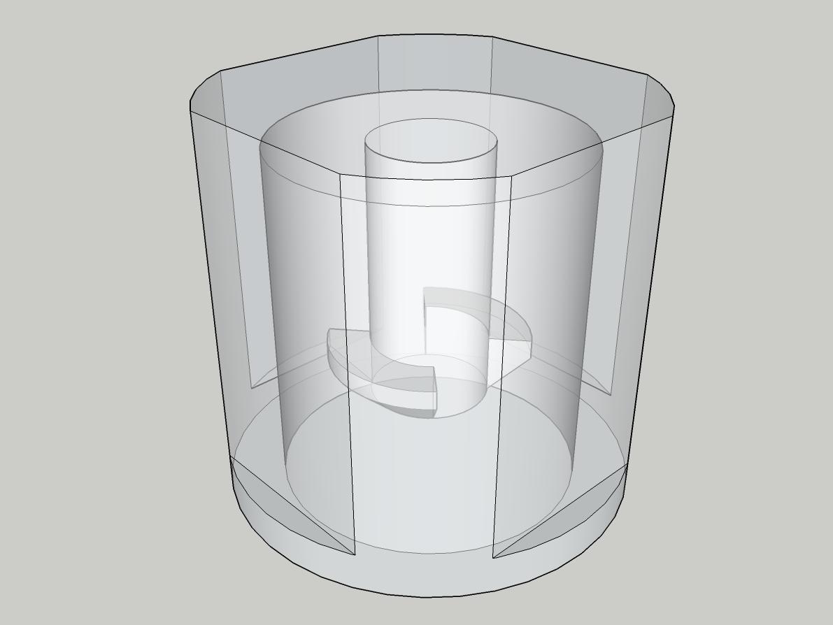 ext_knob_01.png Télécharger fichier STL gratuit Bouton de remplacement pour la rallonge (Masterplug 20m) • Plan pour impression 3D, peaberry