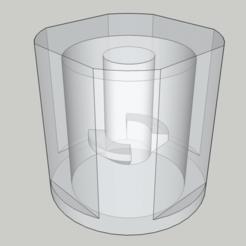 Télécharger fichier STL gratuit Bouton de remplacement pour la rallonge (Masterplug 20m) • Plan pour impression 3D, peaberry