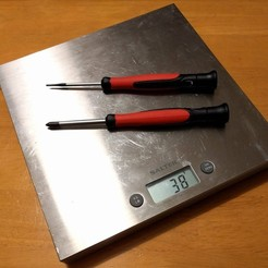 Download free STL Replacement Feet for Salter Digital Kitchen Scales, peaberry