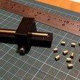 tube_cutter.jpg Télécharger fichier STL gratuit Remix d'un outil de coupe de tube avec vis et écrou M4 • Objet imprimable en 3D, peaberry