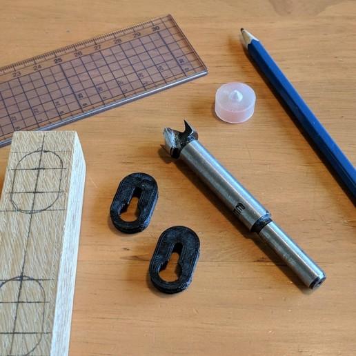 preparation.jpg Télécharger fichier STL gratuit Cintre à trou de serrure (simple et double) • Modèle imprimable en 3D, peaberry