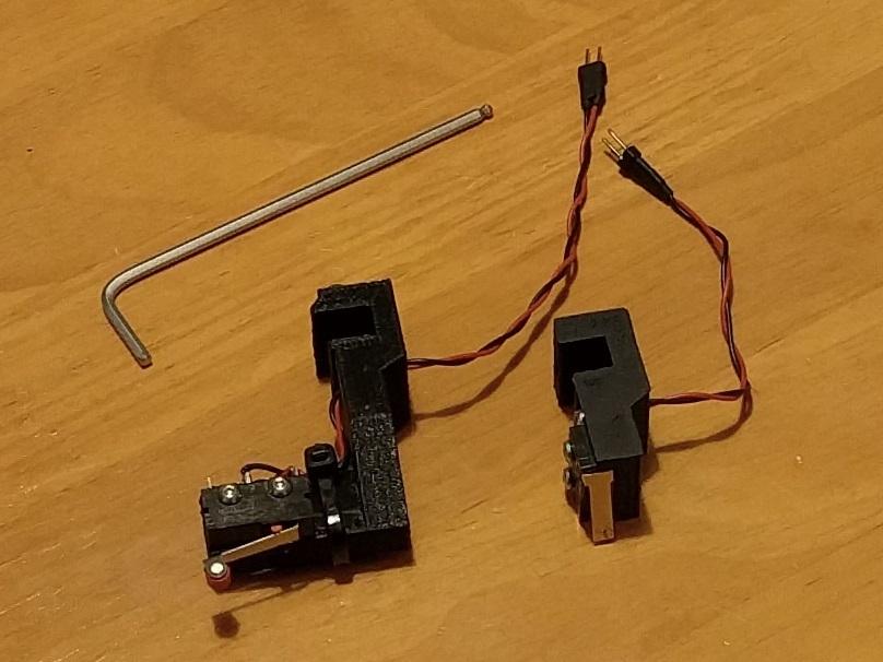 micro_probe_v2.jpg Télécharger fichier STL gratuit Sondes amovibles de nivellement de lit pour Kossel Linéaire Anycubique • Plan pour imprimante 3D, peaberry
