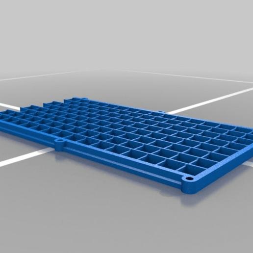 29e6a63118c6aaec7a0228d8502bd0df.png Télécharger fichier GCODE gratuit 32x8 LED Grille matricielle pour diffuseur • Design à imprimer en 3D, peaberry