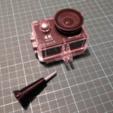Télécharger fichier STL gratuit Vis de pouce / GoPro / Caméra d'action • Design pour imprimante 3D, peaberry