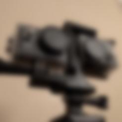 Télécharger fichier STL gratuit Appareil photo 3D pour caméras d'action / EK7000 / GoPro • Objet pour imprimante 3D, peaberry