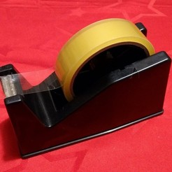 tape_fix2.jpg Download free STL file Tape Dispenser Repair Part • Design to 3D print, peaberry