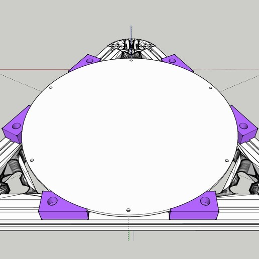hotbed_spacer_01_setup.jpg Télécharger fichier STL gratuit Kossel 220mm Hot Bed Spacers / Supports • Design pour imprimante 3D, peaberry
