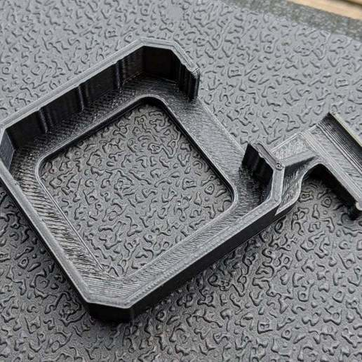 strain-relief01-printed.jpg Download free STL file Cable Strain Relief for NEMA 17 Stepper / 3018 CNC Engraver • 3D printable model, peaberry