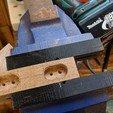 drilling.jpg Télécharger fichier STL gratuit Cintre à trou de serrure (simple et double) • Modèle imprimable en 3D, peaberry