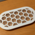 """Download free 3D model Ventilation Grill 100x50mm (4x2""""), peaberry"""