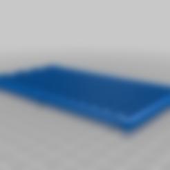 32x8_matrix_v09.stl Télécharger fichier GCODE gratuit 32x8 LED Grille matricielle pour diffuseur • Design à imprimer en 3D, peaberry