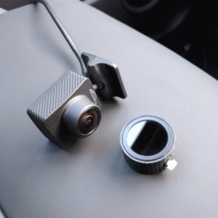 Download free STL K1S Dashcam Polarising Lens Adapter, peaberry