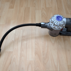 assembled.png Download free STL file Dyson V6 Mini Nozzle • 3D print model, peaberry