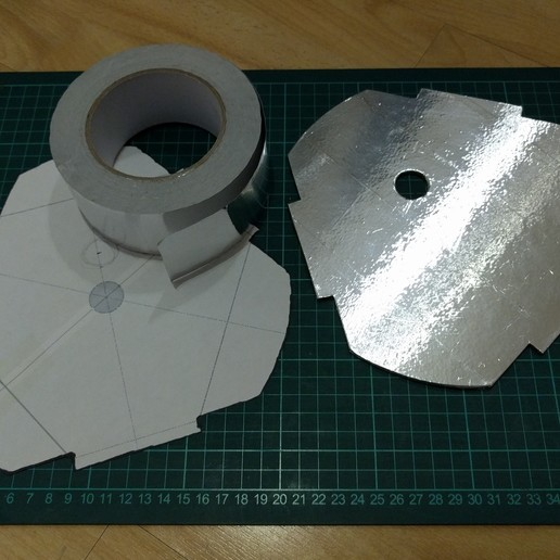hotbed_spacer_heat_shield_01.jpg Télécharger fichier STL gratuit Kossel 220mm Hot Bed Spacers / Supports • Design pour imprimante 3D, peaberry