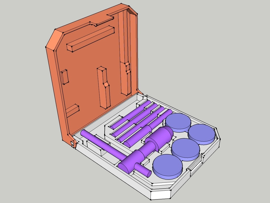 tap_die_case_01_render.jpg Download free STL file Tap & Die Hinged Case • Model to 3D print, peaberry
