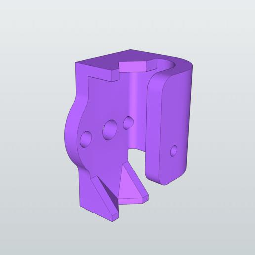 Télécharger modèle 3D gratuit Porte-stylo robuste pour robot à dessin, peaberry