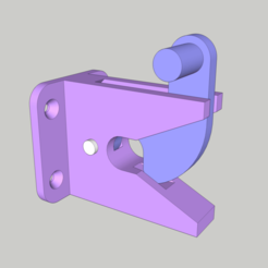 Download free STL file Auto Gate Latch • 3D print template, peaberry