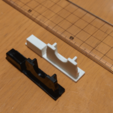 Télécharger fichier STL gratuit Capuchon de poignée de porte de patio (rectangulaire) • Plan pour impression 3D, peaberry