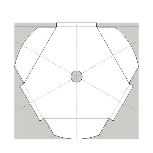 c151e900ead738050cdaa4999c91ba30.png Télécharger fichier STL gratuit Kossel 220mm Hot Bed Spacers / Supports • Design pour imprimante 3D, peaberry