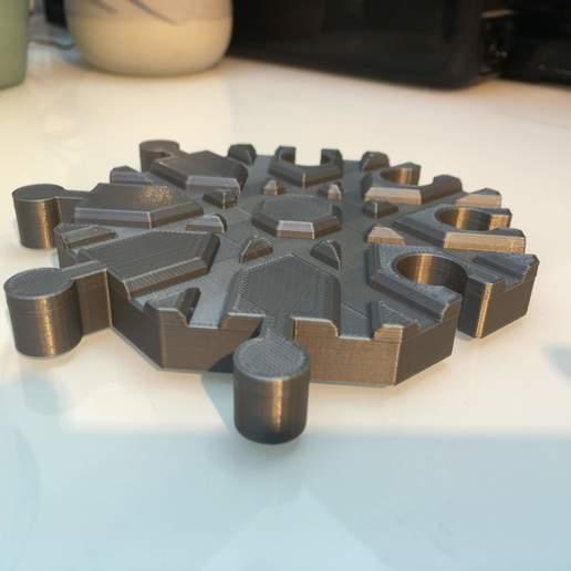 IMG_6546.jpg Télécharger fichier GCODE gratuit Carrefour de voies ferrées en bois : 8 voies (Brio / Ikea ...) • Modèle à imprimer en 3D, Locorico