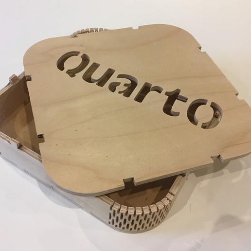 Download free 3D printing templates Quarto Game box (CNC), Locorico