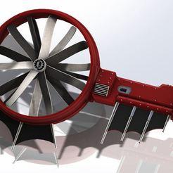 ArcheoHeliTeaser4.JPG Download free STL file Hold up - It´s a (Marisan) chopper! - VTOL Style Wings • 3D printer model, MiniVinyl