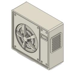 Descargar STL 1/18 Aire acondicionado / Ar condicionado, albertohfandrade