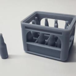 Descargar archivo 3D Caja de botellas de cerveza / Caixa Cerveja (Cerveza), albertohfandrade