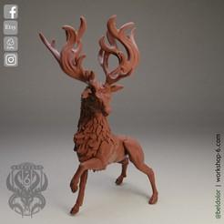 2.jpg Download STL file The Deer Gods - The Elk Gods • 3D printing object, beldolor