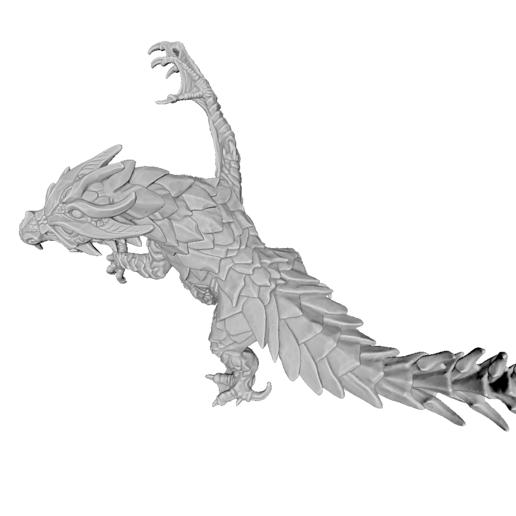 render04.png Download STL file Drakolisk (Variant 2) • 3D printing template, beldolor