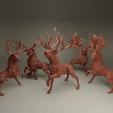 group.png Download STL file The Deer Gods - The Complete Deer Gods • Template to 3D print, beldolor