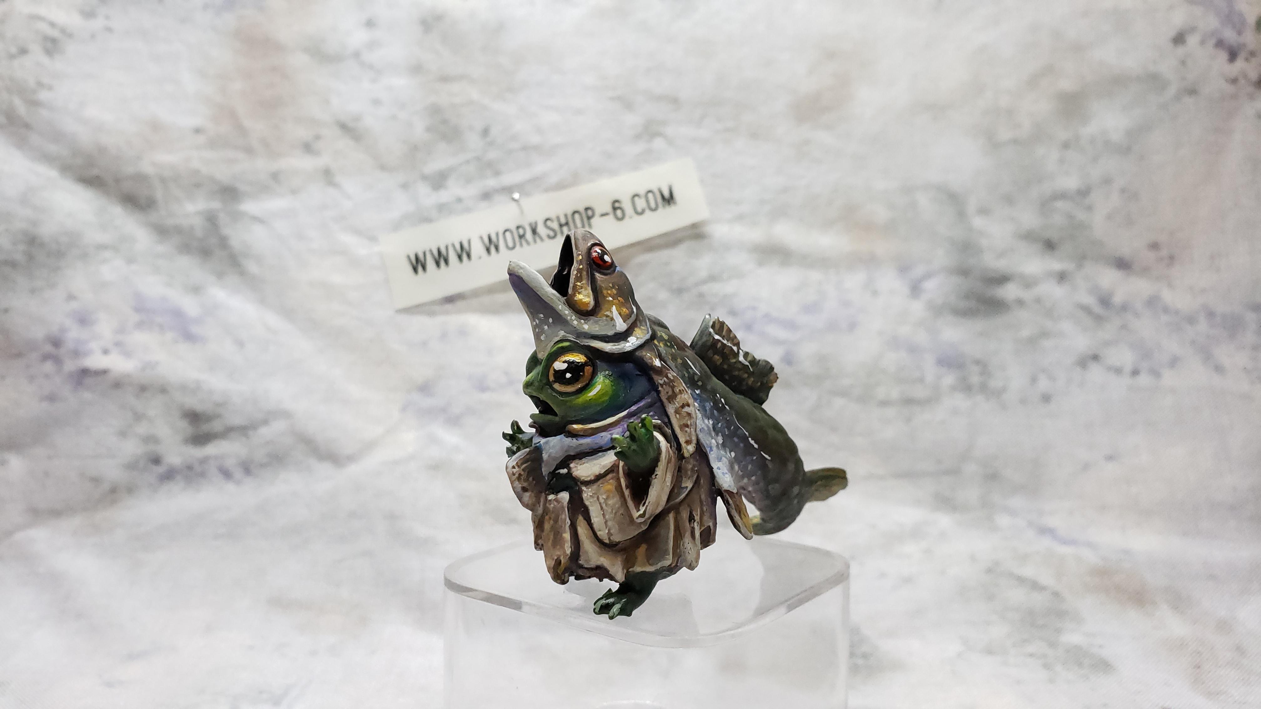 20200225_194619.jpg Download STL file Frogfolk Zealot • 3D printer model, beldolor