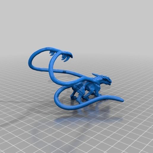 90227092fd37dec6feb193d6eb31178b.png Download free STL file Displacer Beast • 3D printer design, beldolor
