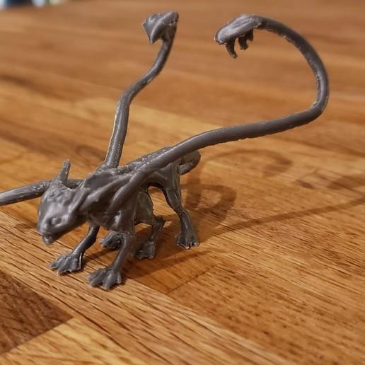 IMG_0893.JPG Download free STL file Displacer Beast • 3D printer design, beldolor