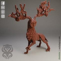 7.jpg Download STL file The Deer Gods - The Feathered Gods • 3D printing object, beldolor
