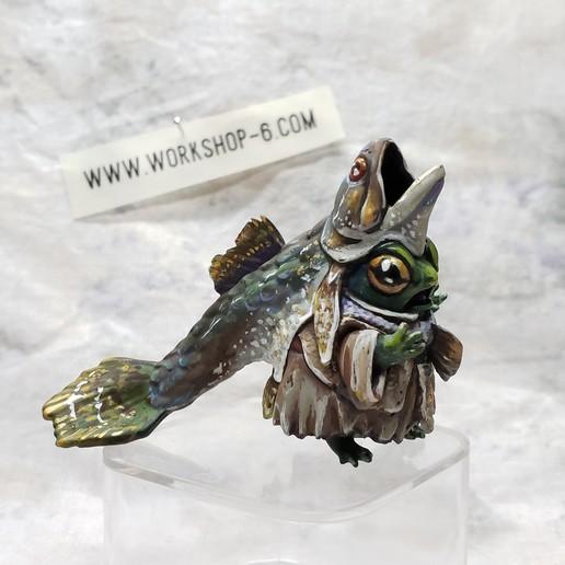 20200225_194513.jpg Download STL file Frogfolk Zealot • 3D printer model, beldolor