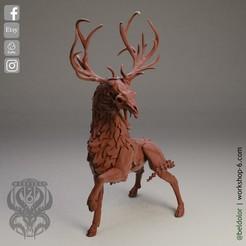 4.jpg Download STL file The Deer Gods - The Corrupt Deer Gods • 3D print model, beldolor