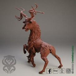 eldritch.jpg Download STL file The Deer Gods - The Eldritch Gods • 3D printable design, beldolor