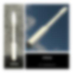 Bracket_Arm_Black_x1.stl Télécharger fichier STL gratuit Vega Scale 1:200 (Multi Parts) • Objet imprimable en 3D, Kmobrain