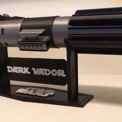Télécharger fichier 3D gratuit Soutien pour le Sabre de Dark Vador, Kmobrain