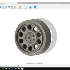 Descargar Modelos 3D para imprimir gratis Scalextric - Llanta para coches de slot 3, pacomellado