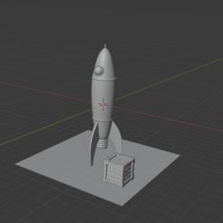 Télécharger fichier impression 3D gratuit fusée, cebriian95